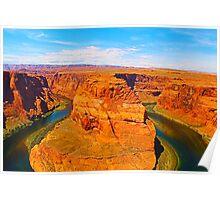 Horseshoe Bend, Grand Canyon, USA Poster