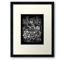 Inside Zombie Framed Print