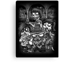 Inside Zombie Canvas Print