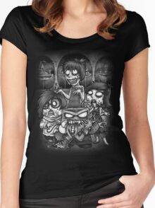 Inside Zombie Women's Fitted Scoop T-Shirt