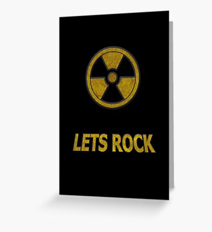 Duke Nukem - Lets Rock Greeting Card