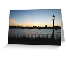 World of Worlds Greeting Card