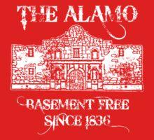 The Alamo Basement Baby Tee