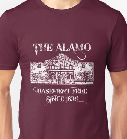 The Alamo Basement Unisex T-Shirt