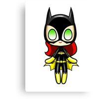 Batgirl Plush Canvas Print