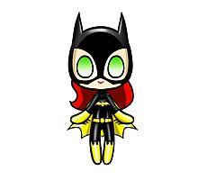 Batgirl Plush Photographic Print