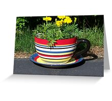 A  Cup of What? Greeting Card