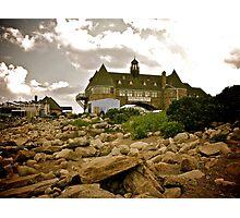 Narragansett Towers - Ocean Road - Rhode Island Photographic Print