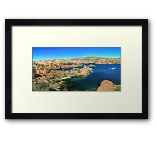 Granite Dells Framed Print