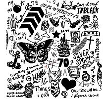 1D Tattoos Updated (2015) Photographic Print