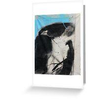 sky inhalation Greeting Card