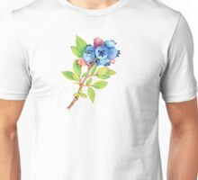 Wild Maine Blueberry Sprig Unisex T-Shirt