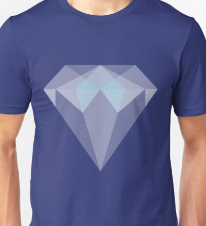 Diamond Illustration Unisex T-Shirt