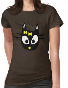 Balck Cat Womens Fitted T-Shirt