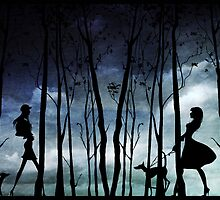 Walking the dogs by Rookwood Studio ©