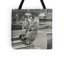 perfectly dressed, 1950s Belfast, Northern Ireland Tote Bag
