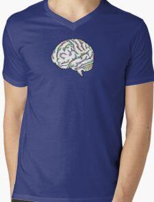 Zany Brainy Mens V-Neck T-Shirt