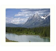 Welcome to Banff Art Print