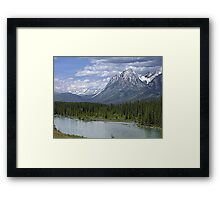Welcome to Banff Framed Print