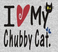Chubby cat Kids Tee