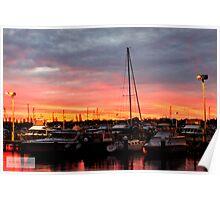 Fremantle Fishing Boat Harbour Poster