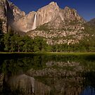 Yosemite Falls Night Reflections by MattGranz
