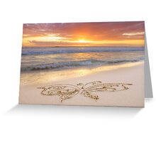 August Eve Greeting Card