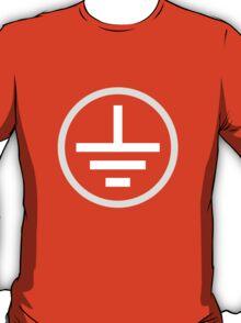 Earth Symbol (white) T-Shirt