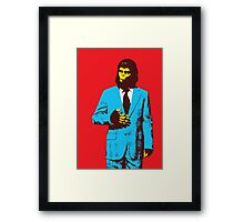 Planet of the Apes, dressed for success Framed Print