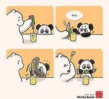 Thrifty Panda by Panda And Polar Bear