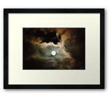 Howl at the Moon Framed Print