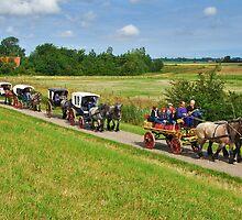 A ride through the farmlands by Adri  Padmos