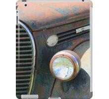 Vintage Truck Grill iPad Case/Skin