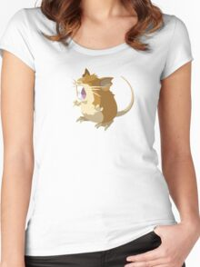 Raticate Women's Fitted Scoop T-Shirt