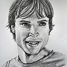 Portraits of Tom Welling, Clark Kent of Smallville by FDugourdCaput