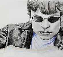 Portraits of Tom Welling, Clark Kent of Smallville, featured in Graphite Pencils Artists by FDugourdCaput