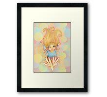 flower fairy Framed Print