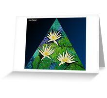Light of Waterlilies Greeting Card