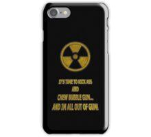 Duke Nukem - Chew Bubble Gum iPhone Case/Skin