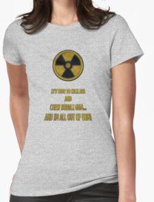 Duke Nukem - Chew Bubble Gum Womens Fitted T-Shirt