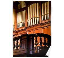 0134  The Organ Pipes Poster