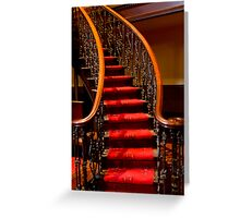 0135 The Stairs Greeting Card