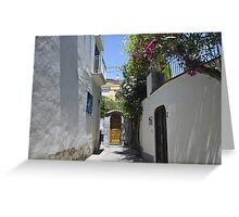 Sunny passage Greeting Card