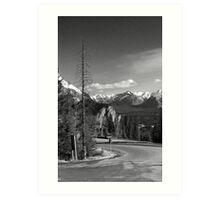 A little bit of Banff series # 5 Art Print