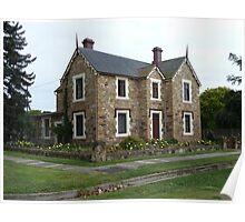 Historic House, Goulburn Poster