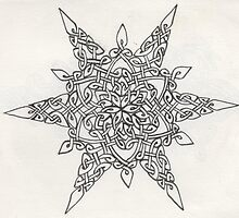 Celtic star by Lyndsey Hale