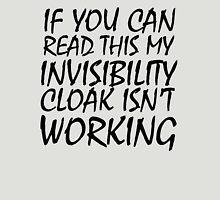 Invisibility Cloak Unisex T-Shirt