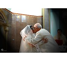 Just one kiss Photographic Print