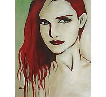 Red Hair Photographic Print