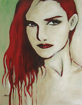 Red Hair by Midori Furze